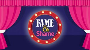 Fame and Shame Awards logo image