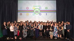 Group image of 2019 VicHealth Award winners