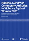 National Community Attitudes towards Violence against Women Survey 2009 publication cover